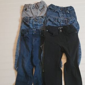 The Children's Place jeans lot of 6 size 2T